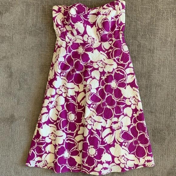 J. Crew Dresses & Skirts - J Crew strapless, tea length A-line dress 12 GUC